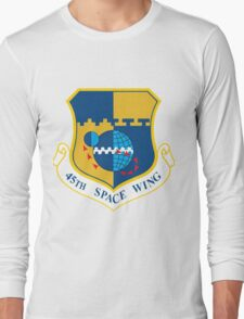 45th Space Wing Logo Long Sleeve T-Shirt