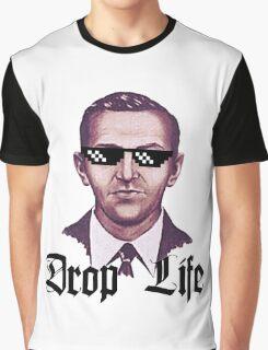 Drop Life D B Cooper Graphic T-Shirt