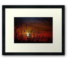 Nocturnal Sunset Framed Print