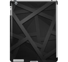 Black Web iPad Case/Skin