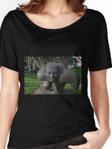 Rugby - New Zealand style Women's Relaxed Fit T-Shirt