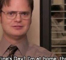 Dwight Schrute Perfect Valentine's Day Sticker