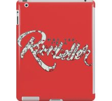 Why yes, I'm a Rumbeller. iPad Case/Skin