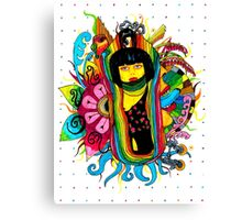 psychedelic festival  Canvas Print