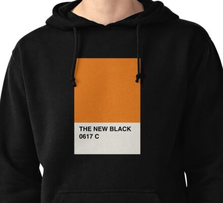Orange is the New Black Pullover Hoodie