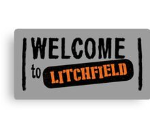 Welcome to Litchfield Canvas Print