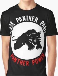 THE BLACK PANTHER PARTY Graphic T-Shirt
