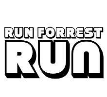 Run Forrest Run Photographic Print