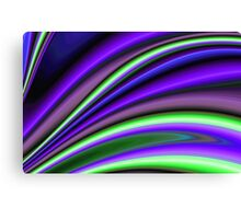 Abstract Fractal Colorways 01PL Canvas Print