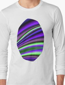 Abstract Fractal Colorways 01PL Long Sleeve T-Shirt