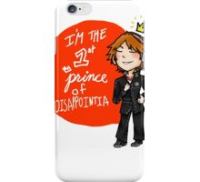 yosuke hanamura: the prince of disappointment! iPhone Case/Skin