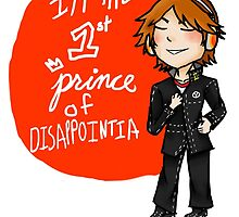 yosuke hanamura: the prince of disappointment! by kerudiogial