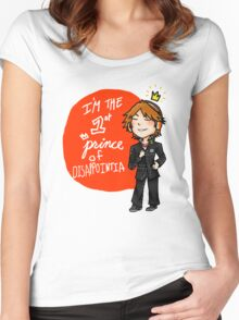 yosuke hanamura: the prince of disappointment! Women's Fitted Scoop T-Shirt