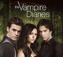 Triangle Love The Vampire Diaries by kampret kayane