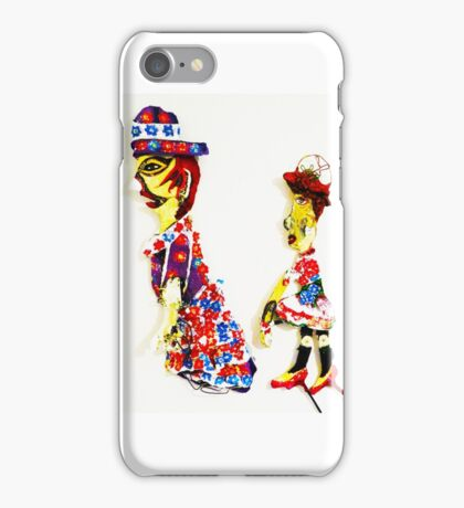 Theatre puppet and understudy iPhone Case/Skin