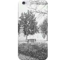 The park iPhone Case/Skin