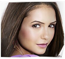 Beautiful Face Nina Dobrev The Vampire Diaries Poster