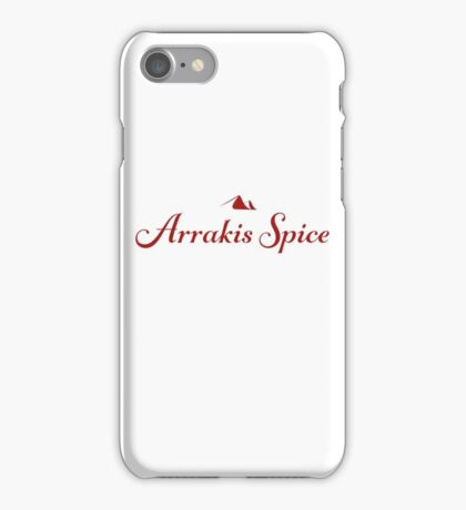 Arrakis Spice  iPhone Case/Skin