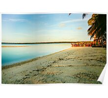 Great tropical scene Poster