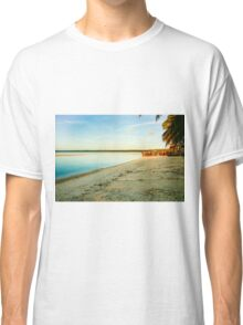 Great tropical scene Classic T-Shirt