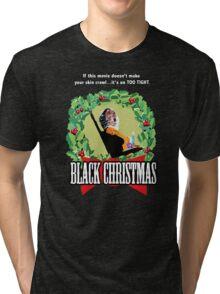Black Christmas - Original Slasher Tri-blend T-Shirt