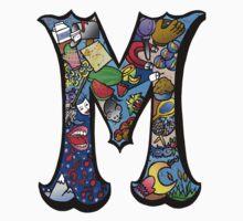 Doodle Letter M Kids Clothes