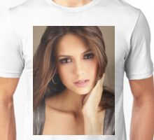 Beautiful Face Nina Dobrev The Vampire Diaries 2 Unisex T-Shirt