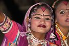 Dancers in Rajasthan, India by Carole-Anne