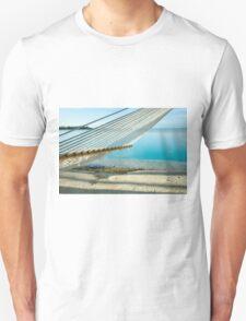 Hammock on tropical island. T-Shirt