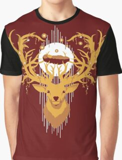 Golden Stag Graphic T-Shirt
