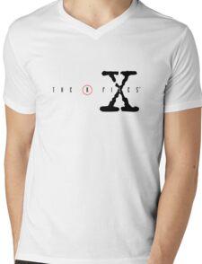The X Files Mens V-Neck T-Shirt