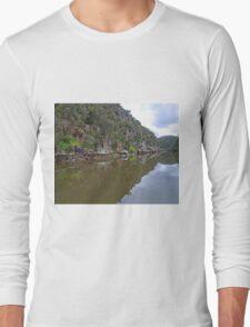Cataract Gorge, Launceston, Tasmania, Australia Long Sleeve T-Shirt