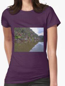 Cataract Gorge, Launceston, Tasmania, Australia Womens Fitted T-Shirt