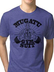 Mugatu Gym Suit Tri-blend T-Shirt