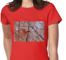 Cardinal Red Womens Fitted T-Shirt