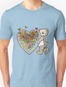 Beard Cuddling the Heart T-Shirt