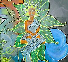 Internal Foliage (From Chalk Meditation #12)  December 2006 by Infinite Path  Creations