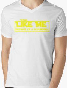 Because I'm a Scoundrel Mens V-Neck T-Shirt
