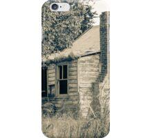 Retired farm cottage iPhone Case/Skin