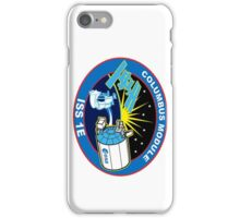 Columbus Laboratory Logo iPhone Case/Skin