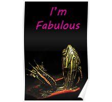 Fabulous Turtle Poster