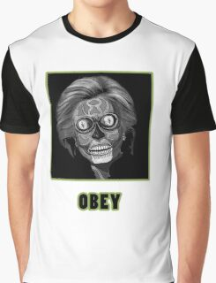 Obey Hillary Graphic T-Shirt