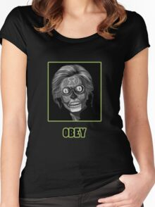 Obey Hillary Women's Fitted Scoop T-Shirt