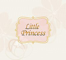 Little Princess Name Tag by Lena127