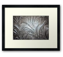 Ice Patterns 4 Framed Print