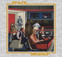 Space Mashup Kids Tee