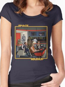 Space Mashup Women's Fitted Scoop T-Shirt