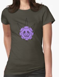 Star Skull Womens Fitted T-Shirt