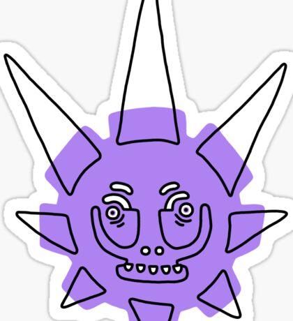 Star Skull Sticker
