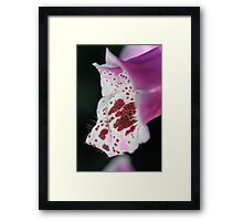Flower Hairs Framed Print